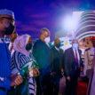 PHOTOS: President Buhari arrives France ahead of African Finance Summit
