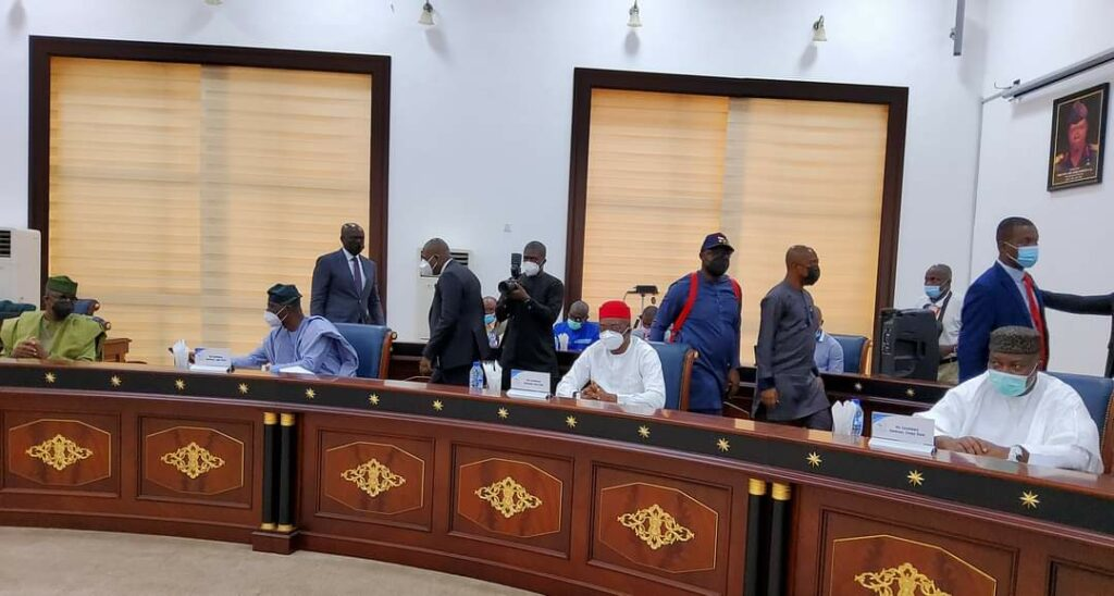 Southern Governors' Forum urges FG to convoke national dialogue