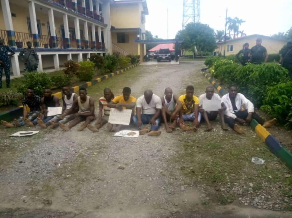 Operation Restore Peace: Police parade 11 suspects in Calabar