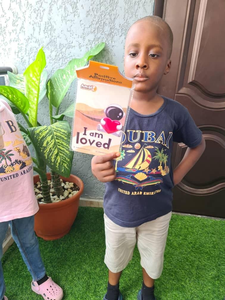 Children's Day: Amal Botanicals gives out 3,000 affirmation flashcards