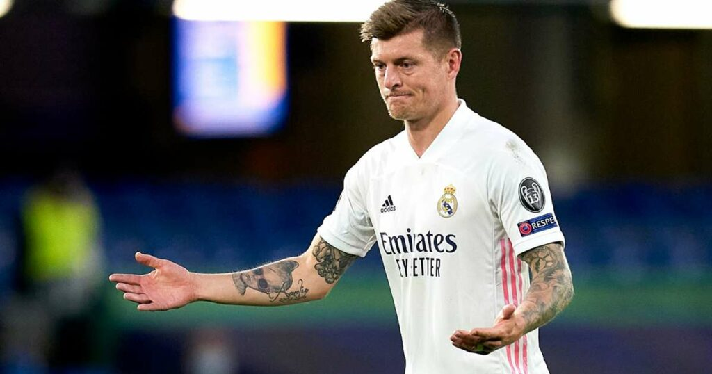 Madrid star Kroos in isolation after contact with positive COVID-19 case